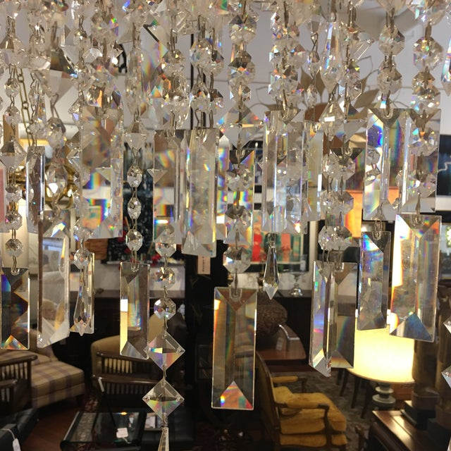 Italamp Italian Swarovski Crystal Chandelier - Image 6 of 9