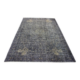 Contemporary Turkish Overdyed Rug - 6′11″ × 10′4″ For Sale