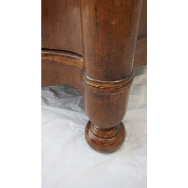 Italian Style Wood End Tables - A Pair - Image 6 of 7