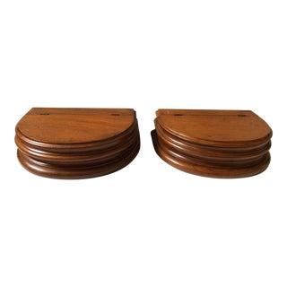Pair of Pedestal Dresser Boxes For Sale