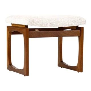 1960s Vintage G-Plan Furniture Danish Modern Ottoman For Sale