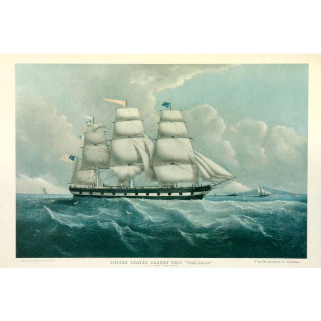 United States Packet Ship Nautical Prints - A Pair - Image 2 of 11