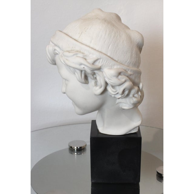 """Mid 20th Century Vintage Carpeaux Sculpture """"Neopolitan Fisherboy"""" 1857 on Revolving Base For Sale - Image 5 of 11"""