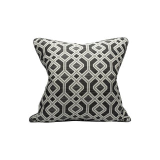 Scalamandre Oak Bluffs Pillow, Coal For Sale