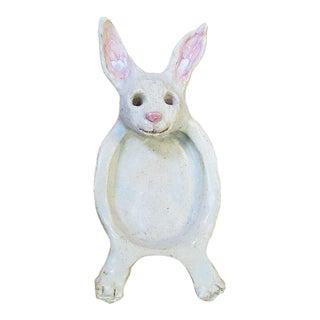Vintage Arts & Crafts Rabbit Soap Dish For Sale