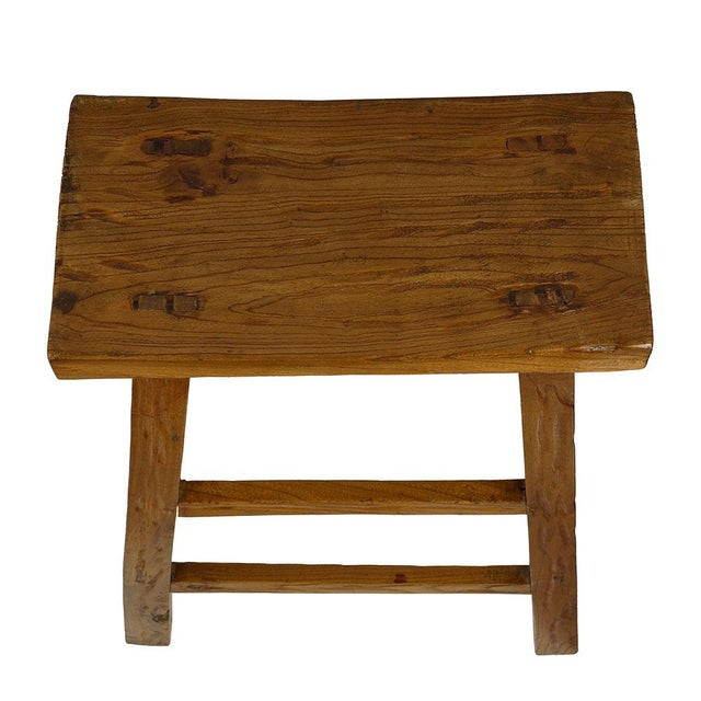 Mid 20th Century Vintage Mid Century Chinese Country Frog Stool For Sale - Image 5 of 9