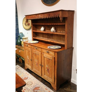 Antique French Country Cherry Wood Cupboard Preview