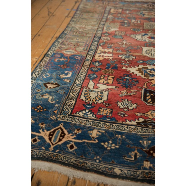 "Vintage Bijar Rug - 4'10"" X 7' For Sale - Image 9 of 13"