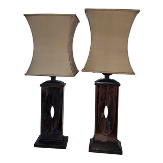 Maitland Smith Table Lamps - A Pair For Sale
