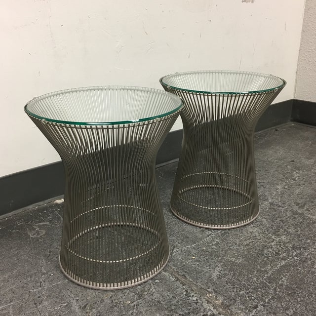 Warren Platner by Knoll Side Tables - A Pair - Image 5 of 8
