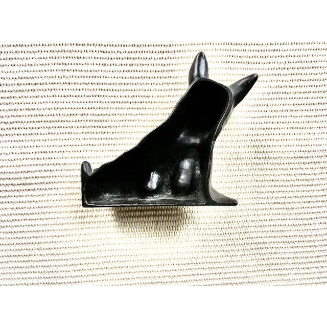 Vintage Black Cast Iron Scottish Terrier Doorstop/Bookend For Sale In New York - Image 6 of 8
