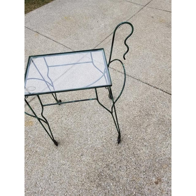 Mid-Century Modern 1970s Mid Century Modern Meadowcraft Pony Bar Cart For Sale - Image 3 of 7