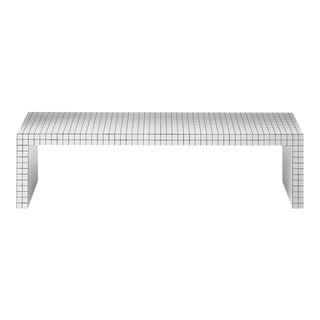 Modern Superstudio for Zanotta Quaderna 710 Bench Coffee Table For Sale
