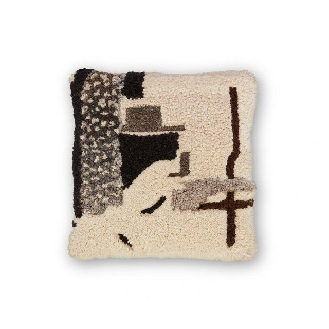 2010s Tom Dixon Abstract Cushion - Natural For Sale - Image 5 of 5