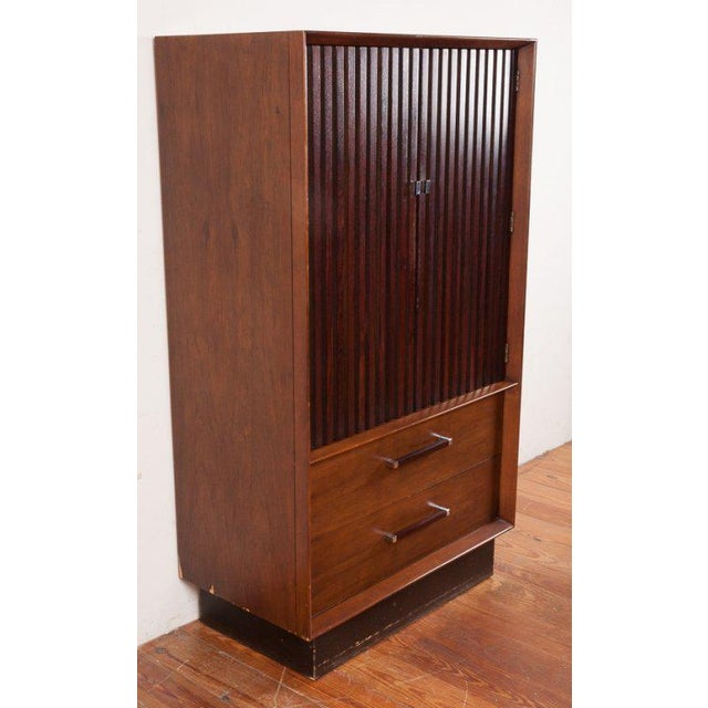 Brown Rosewood Tallboy by Lane of Alta Vista For Sale - Image 8 of 10
