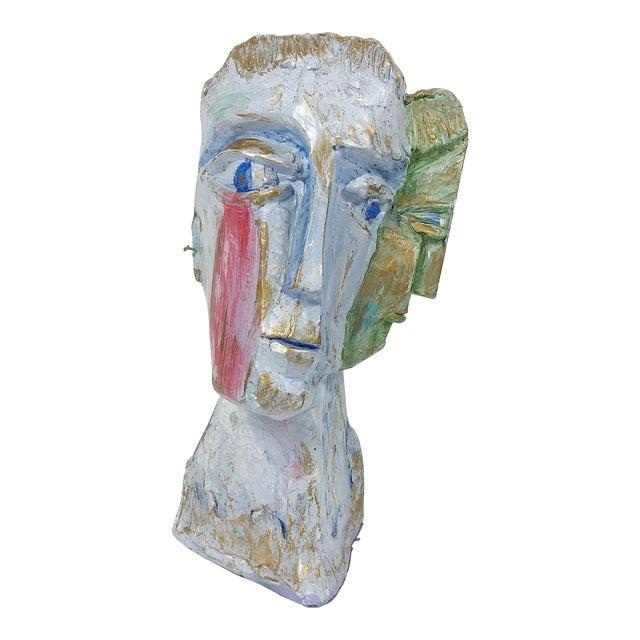 Ben Kupferman Resin 2 Faced Bust - Image 1 of 6