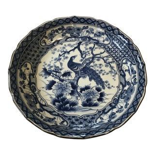 Vintage Asian Flying Turkey Bowl For Sale