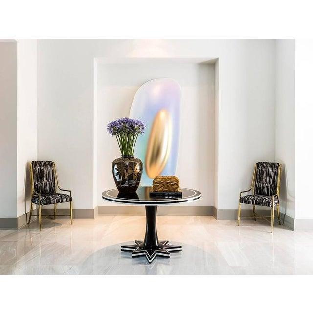 1990s Contemporary Ceramic Decorative Vase For Sale In Houston - Image 6 of 7