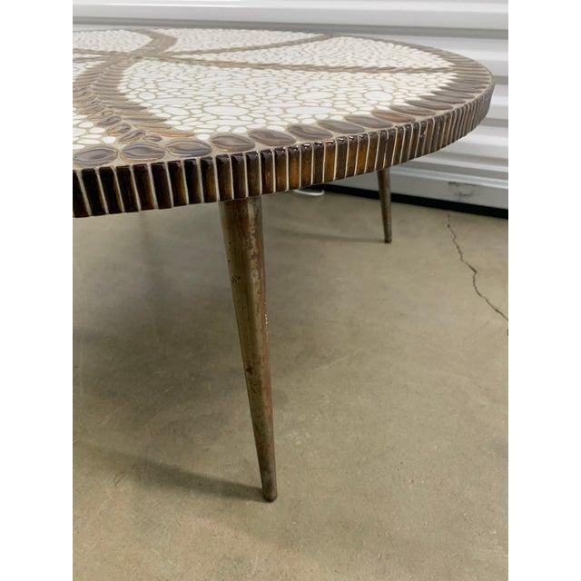 Harvey Probber Vintage Mid-Century Modern Tile Coffee Table For Sale - Image 4 of 10