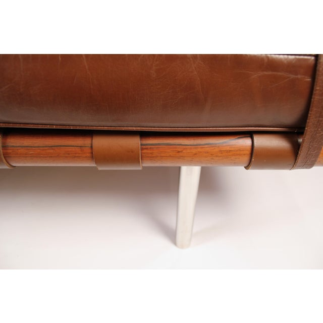 Ludwig Mies van der Rohe Early Production, Rosewood Daybed Designed by Ludwig Mies Van Der Rohe For Sale - Image 4 of 11