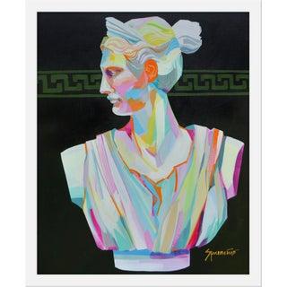 "Medium ""Greek Bust I"" Print by Jennifer Sparancino, 17"" X 21"" For Sale"