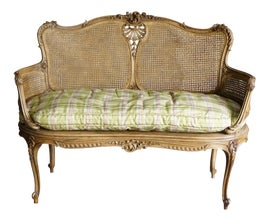 Image of Goldenrod Settees