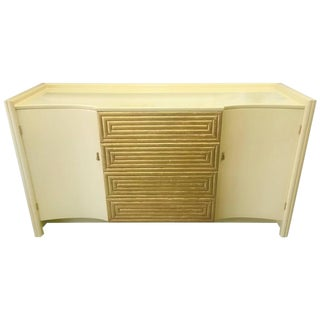 Cream Lacquer Buffet by Johann Tapp for Gumps For Sale