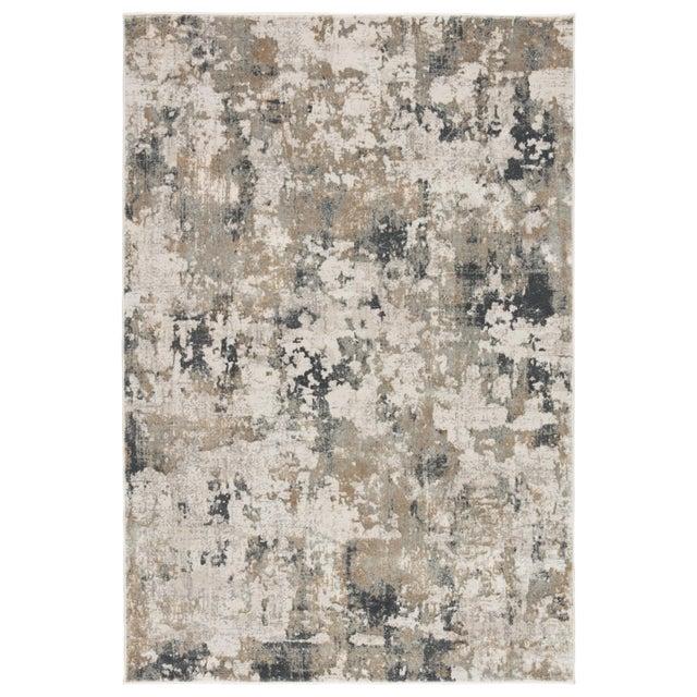 """Jaipur Living Lynne Abstract White Gray Runner Rug 2'6""""X8' For Sale - Image 12 of 12"""