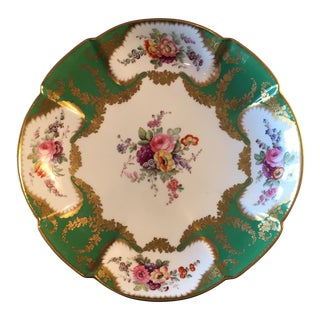 Hand Painted Floral Design Decorative Bowl