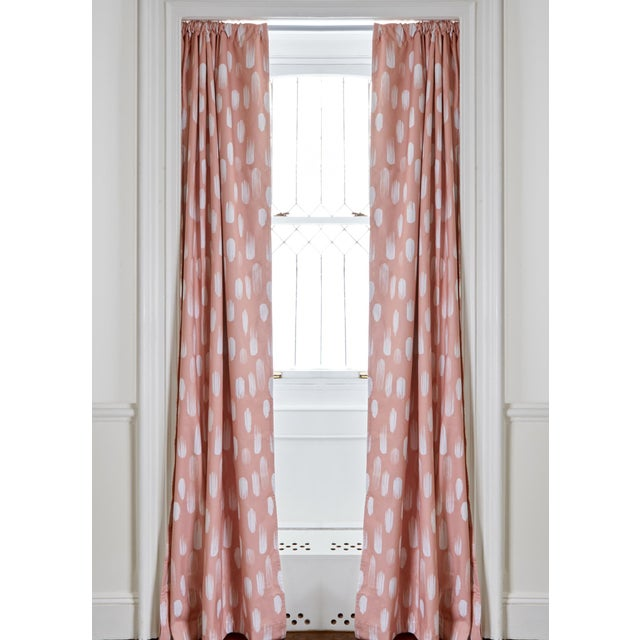 "2020s Pepper Carolina Blackout 50"" x 108"" Curtains - 2 Panels For Sale - Image 5 of 5"