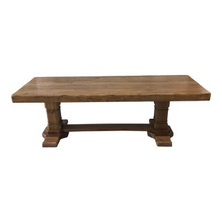 Vintage French Country Farm Table For Sale