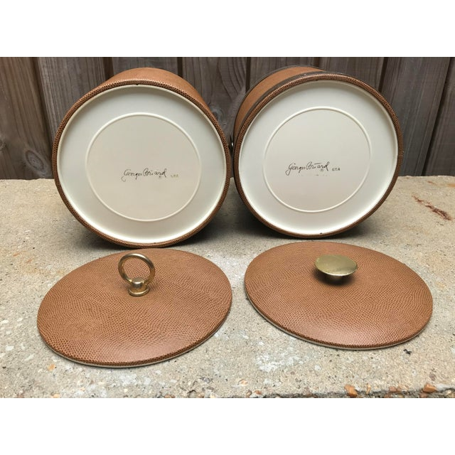 1960s Mid-Century Modern George Briard Ice Buckets - A Pair For Sale - Image 4 of 6