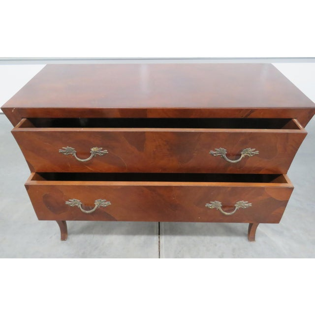 Italian Louis XV Style Olivewood Commode For Sale In Philadelphia - Image 6 of 10