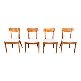 Mid-Century Drexel Declaration Dining Chairs by Kipp Stewart and Stewart MacDougall - Set of 4 For Sale