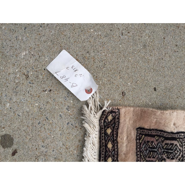 "Pakistani Bokhara Carpet - 10'5"" X 13'5"" Beautiful Mint Condition For Sale - Image 4 of 9"