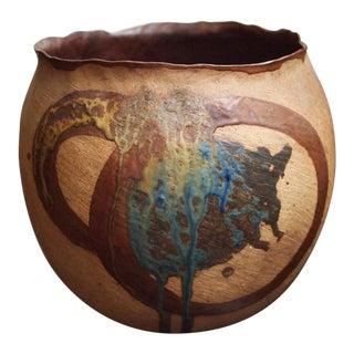 Vintage Studio Pottery Ceramic Planter For Sale