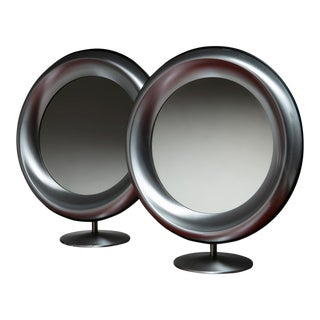 Pair of Table Mirrors by Missaglia For Sale