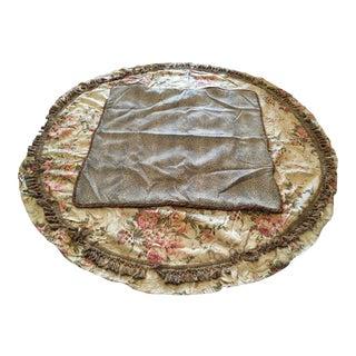 Custom Made Ralph Lauren Table Skirt With Topper