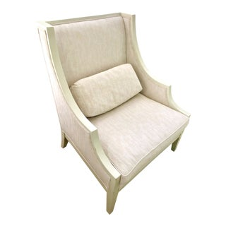 John Richard Upholstered Accent Chair For Sale