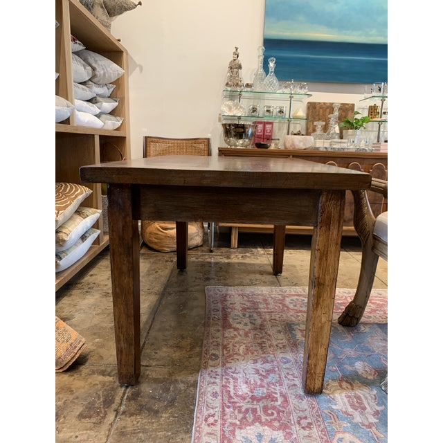 Antique Primitive Dining Table. Beautiful wood grains. Perfect as a small dining table, Kitchen Island and even a writing...