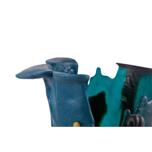 Plastic Gaetano Pesce Mulitcolored Resin Vase - 1996 For Sale - Image 7 of 10