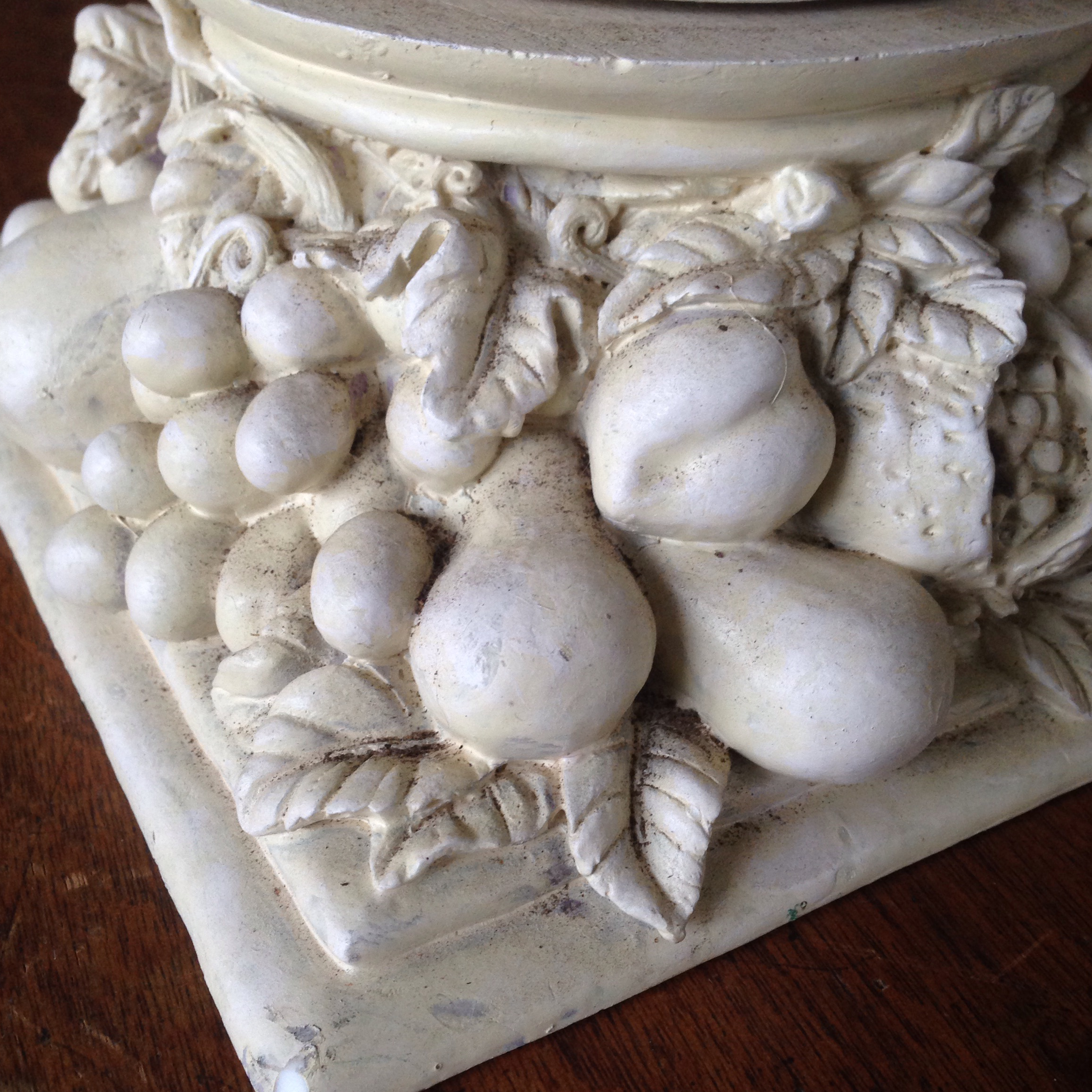 White Vintage French Style Wire Garden Urn Planter For Sale   Image 8 Of 11