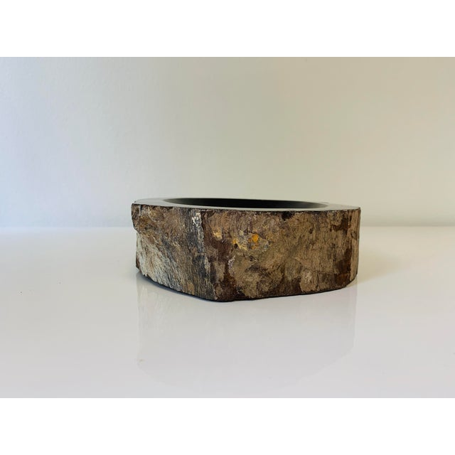 Petrified Wood Bowl/Catchall For Sale - Image 4 of 8
