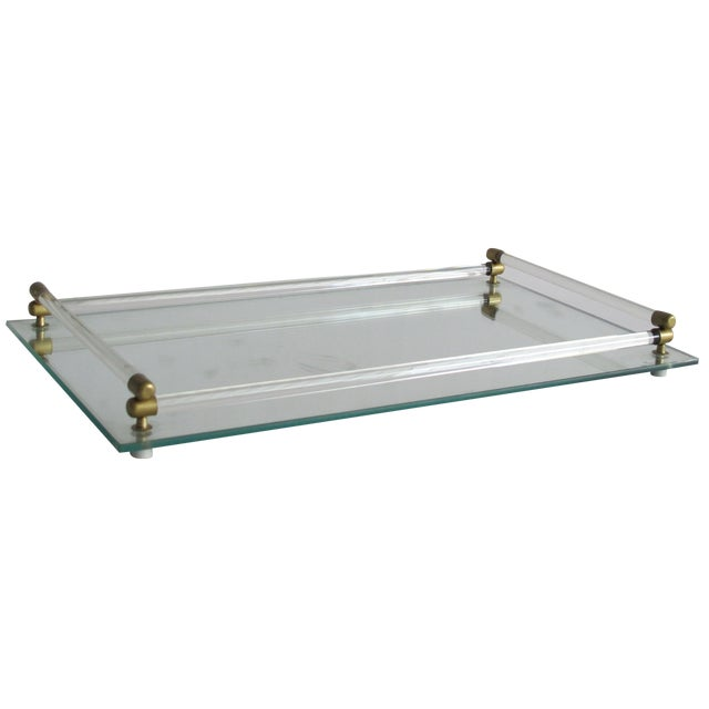 Mirrored Vanity Tray - Image 1 of 4