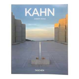 "Jospeh Rosa ""Kahn"" Modernist Architecture Taschen Softcover Design Book"