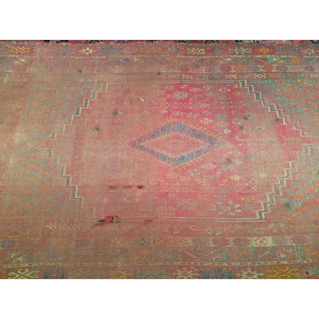Islamic 19th Century Moroccan Village Rug - 5′10″ × 14′5″ For Sale - Image 3 of 13
