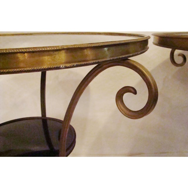 French Gueridon Side Tables - A Pair For Sale In West Palm - Image 6 of 10