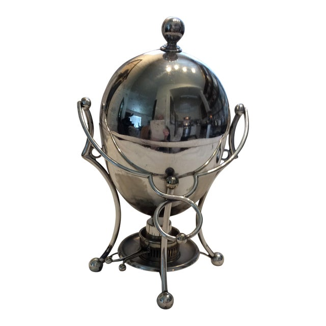 Antique Silverplate Egg Warmer For Sale