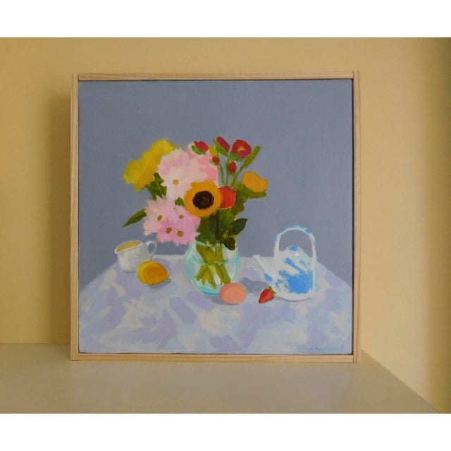 Expressionism Morning Table by Anne Carrozza Remick For Sale - Image 3 of 6