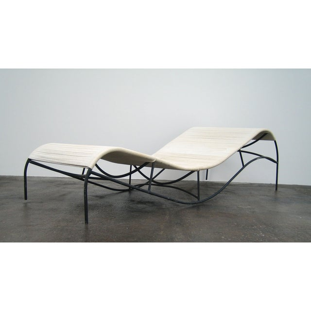 Modern Van Keppel-Green Chaise Lounge Chair For Sale - Image 3 of 5